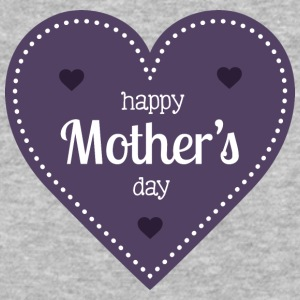 happy_mother-s_day_dark_heart - Baseball T-Shirt