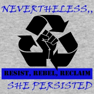 Reclaim RESIST - Baseball T-Shirt