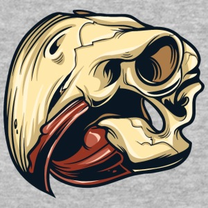 bird_skull_4 - Baseball T-Shirt