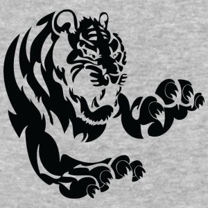 big_tiger_black - Baseball T-Shirt