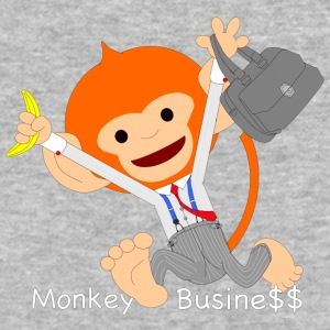 Pongo, Monkey business - Baseball T-Shirt