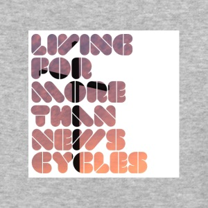 Living For More Than News Cycles - Baseball T-Shirt