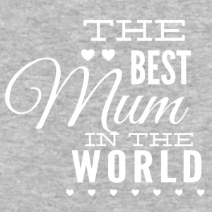 the_best_mom_in_the_world_white - Baseball T-Shirt