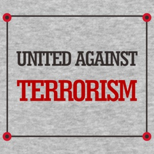 United against terrorism - Baseball T-Shirt