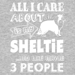 All I Care About Is My Sheltie Shirt - Baseball T-Shirt