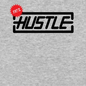 Hustle 110% - Baseball T-Shirt