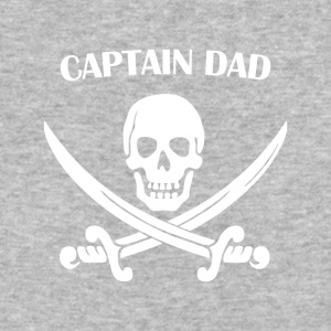 Captain Dad Pirate T-shirt For Daddy - Baseball T-Shirt