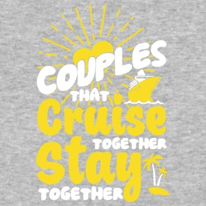 Couples Cruise Together T Shirt - Baseball T-Shirt