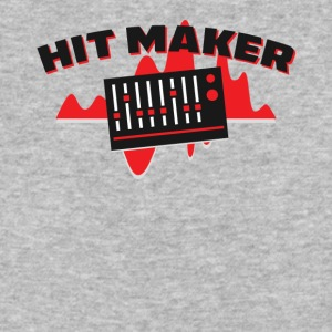 Hit Maker Producer Mixing Board Volume Sound Waves - Baseball T-Shirt