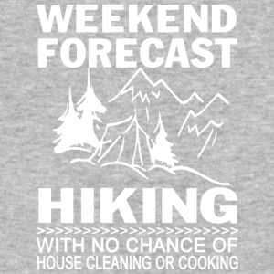 Weekend Forecast Hiking T Shirt - Baseball T-Shirt