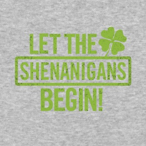 let the shenanigans begin - Baseball T-Shirt
