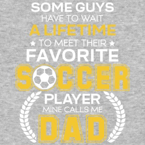 Favorite Soccer Player Mine Calls Me Dad T Shirt - Baseball T-Shirt