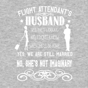 My Flight Attendant Wife's Not Imaginary T Shirt - Baseball T-Shirt