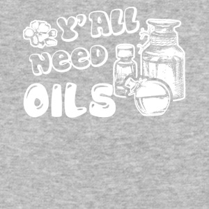 Essential Oils T Shirt Y'all need Oils Shirt - Baseball T-Shirt