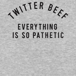 Twitter beef everything is so pathetic shirt - Baseball T-Shirt