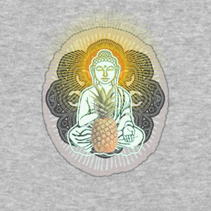 Pineapple Buddha - Baseball T-Shirt