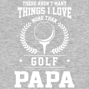 I Love Golf And Being A Papa T Shirt - Baseball T-Shirt