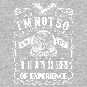 I'm not 50 1967 I'm 18 with 32 years of experience - Baseball T-Shirt