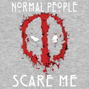 DP normal people scare me - Baseball T-Shirt