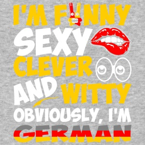 Im Funny Sexy Clever And Witty Im German - Baseball T-Shirt