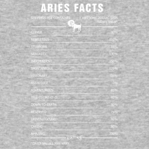 Aries Facts 1 Awesome Zodiac Sign - Baseball T-Shirt