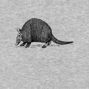Cute Armadillo Graphic Tee Shirt - Baseball T-Shirt
