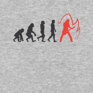 Evolution Of guitar Graphic Tee Shirt - Baseball T-Shirt