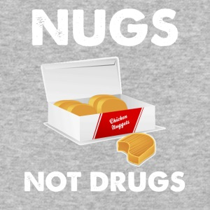 Nugs not drugs - Baseball T-Shirt