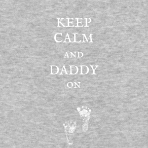 Keep Calm and Daddy On! - Baseball T-Shirt