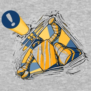 An Eager Robot - Baseball T-Shirt