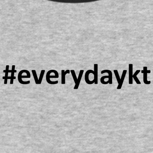 everydaykt single - Baseball T-Shirt