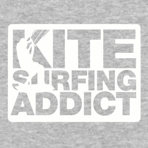 Kitesurfing Addict - Baseball T-Shirt