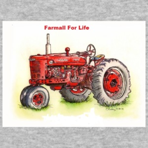 Farmall For Life - Baseball T-Shirt