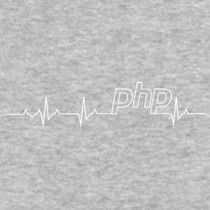 Php Heartbeat: Perfect shirt for Php Programmer - Baseball T-Shirt