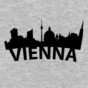 Arc Skyline Of Vienna Austria - Baseball T-Shirt