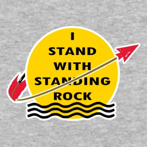 STAND_ROCK - Baseball T-Shirt