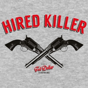 Hired Killer - Baseball T-Shirt