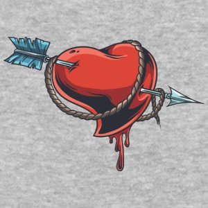 arrow_wound_heart - Baseball T-Shirt