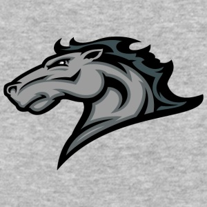 gray_horse - Baseball T-Shirt