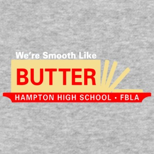We re Smooth Like BUTTER HAMPTON HIGH SCHOOL FBL - Baseball T-Shirt