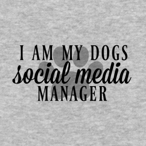 I am my dogs social media manager - Baseball T-Shirt