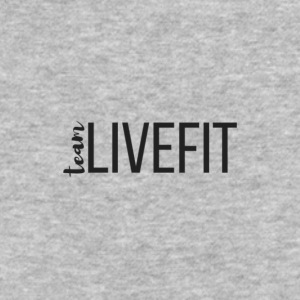 Team_LiveFit_Logo_BLACK - Baseball T-Shirt
