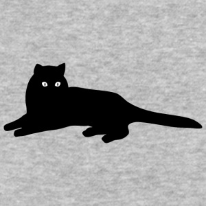 Cute and amazing cat - Baseball T-Shirt