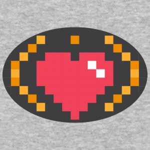 Digital Heart Isle | by Isles of Shirts - Baseball T-Shirt