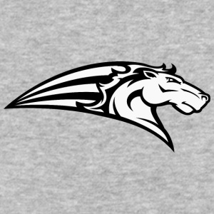 white_horse - Baseball T-Shirt