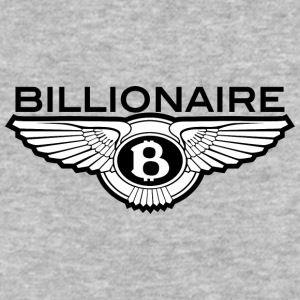 Billionaire - B Design (Black) - Baseball T-Shirt