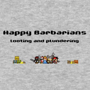 Happy Barbarians - Looting and Plundering - Baseball T-Shirt