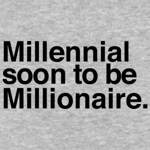 Millennial soon to be Millionaire - Baseball T-Shirt