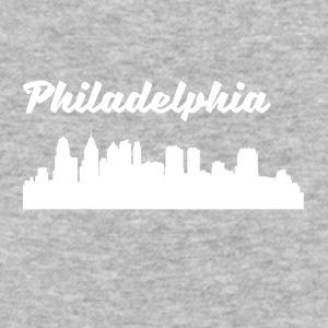 Philadelphia PA Skyline - Baseball T-Shirt