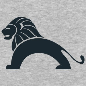 lion_with_bridge_body - Baseball T-Shirt